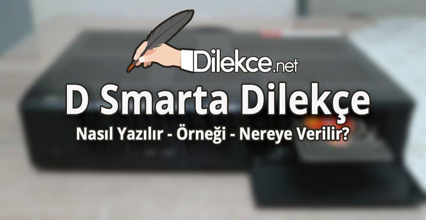 D Smarta Dilekce Dilekce Net